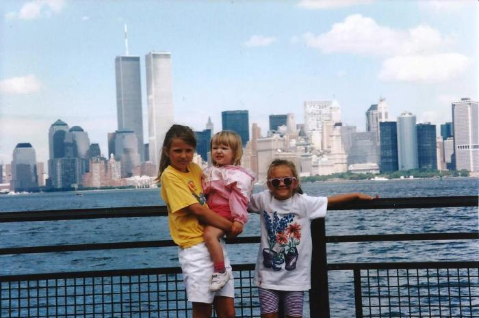 This photo was taken 20 years ago at Liberty State Park.