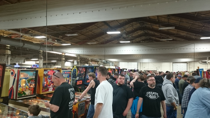 So many people and so much pinball.