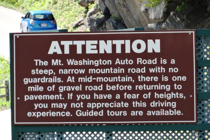 Attention: this might not be the road for you!