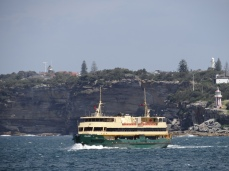 The famous Manly Ferry.