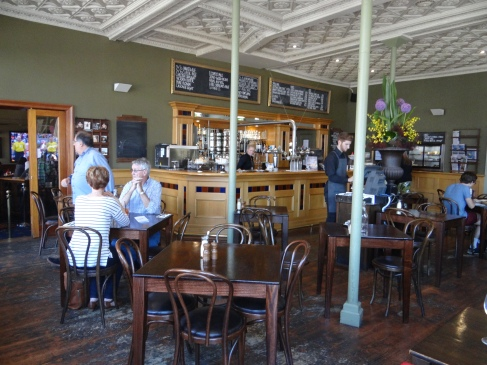 Ground floor restaurant.