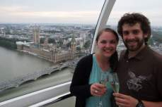 The London Eye champagne ticket